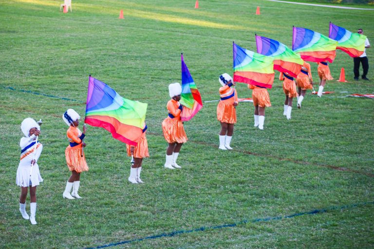 Lilyfontein School (High School) Majorettes during Large Drill, Photo By - Tenita Birkholtz, DT Creations